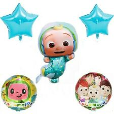 5 pcs Cocomelon foil balloons Kids Birthday Party