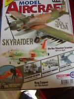 MODEL AIRCRAFT MONTHLY OCTOBER 2016 SKYRAIDER EF 18G HORNET TIGERS ZARAGOZA