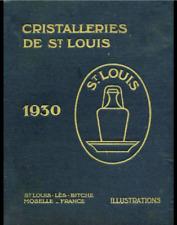 ST. LOUIS Catalogo libro cristallo Cristallo 1930 PDF 129 pagine