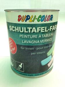 Motip DUPLI COLOR Schultafel Farbe Lack, Tafellack, 750 ml., schwarz, 368110