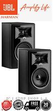 "PAIR JBL 306P MkII Powered 6.5"" 2Way Bi-Amped Studio Monitor MK2 Single Speaker"