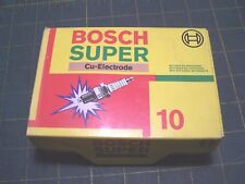 BOX OF 10  WR9CC  Bosch SUPER Resistor Copper Spark Plugs for Austin