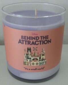 DISNEY BEHIND THE ATTRACTION OFFICIAL DISNEY+ PROMO IT'S A SMALL WORLD CANDLE