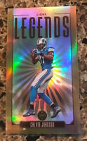 2020 PANINI LEGACY CALVIN JOHNSON MINI BRONZE PARALLEL #107 SN 029/100 LIONS HOF