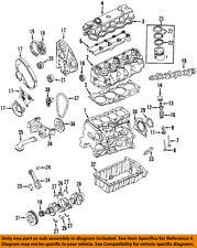 VW VOLKSWAGEN OEM 99-04 Golf-Engine Valve Cover 038103469E