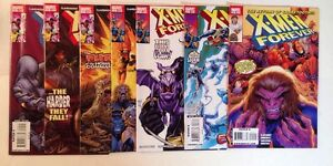X-men Forever 2-5 7-9 Near Mint Lot Set Run