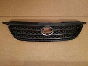 fits 2005-2006 TOYOTA COROLLA Front Bumper Upper Grille Dark Gray NEW