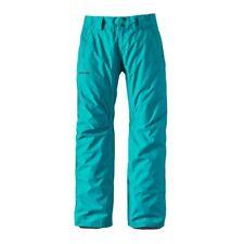 Patagonia WOMEN'S Isolata in Polvere Ciotola Pantaloni Epic Blu Taglia L (UK 14)
