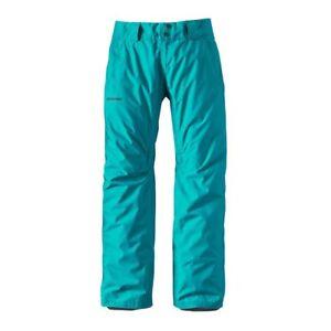 Patagonia Women's Insulated Powder Bowl Pants Epic Blue  Size L (uk 14)