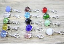14pcs mix dangle Floating Charm for Glass Memory Locket necklace B285