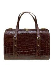 Beltrami Bolso de Mano Real Cocodrilo 23605