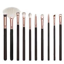 10PCS/Set Pinceles Maquillaje de Sombra Ojos Polvo Cepillo Brochas Cosmético