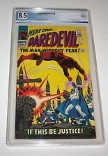 Daredevil #14 - Marvel 1966 Silver Age issue - PGX VF+ 8.5 - (Plunderer appears)