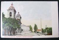 Postcard CA Santa Clara Mission California Original Old Cross Vintage