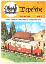 LGB G Scale Depesche Magazine 41 1981 (148877)