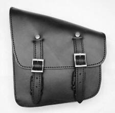 hand bag leather black !for harley softail breackout VN fatboy wildstar dragstar