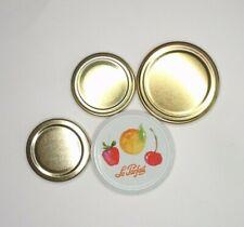 Single Replacement Jam Jar Lid (Le Parfait or Kitchen Craft) - Screw Top