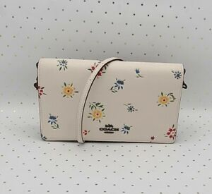 🌸 Coach ☆ HAYDEN FOLDOVER CROSSBODY & CLUTCH ~ Wildflower Print ☆ NWT (3804) 🌸