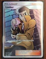 Pokemon Card Trainer  LOOKER  Ultra Rare 152/156   ULTRA PRISM   ***MINT***