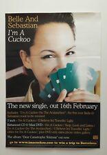 Belle And Sebastian - I'm A Cuckoo  - Original Promo Poster