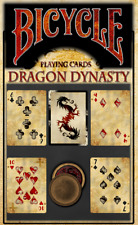 Bicycle Dragon Dynasty Rare Limited Custom Playing Cards Authentic Poker Deck.