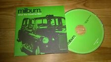 CD POP Milburn-what you could 've won (2 Song) Promo Mercury CB