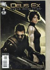 Deus Ex #4-2011 vf- 7.5 DC Comics low print run based on the video game