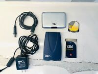 Iomega Clik! PC Card Drive 40MB & USB PC Reader - Working-Great Condition!