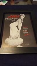 Rusty Warren Bottoms Up Rare Original Promo Poster Ad Framed!