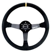 Sparco Steering Wheel 345 Black Suede P/N 015R345Msn