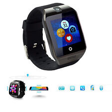 Bluetooth Smart Watch Wristwatch Sync Phone Calls Music for Android Samsung LG