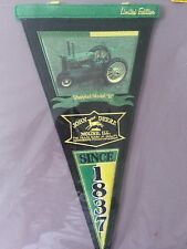 John Deere Unstyled Model B Pennant Moline Illinois New Old Stock In Package
