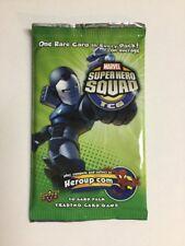Upper Deck Super Hero Squad TCG Hero's Destiny Booster Pack Marvel Comics New!