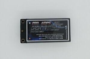 PROAMPS 7.4V 2S 5500MAH SHORTY LIPO TRUE 60C CONT CURRENT GENUINE PRODUCT
