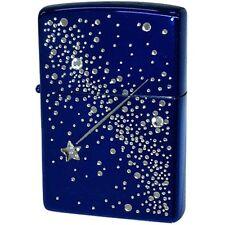 Zippo Lighter Night Drops 2ND-BL2 Swarovski Best buy gift New F/S from Japan