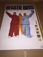 rare Vintage Beastie Boys Music Poster 34�X 22�#6534 Alive