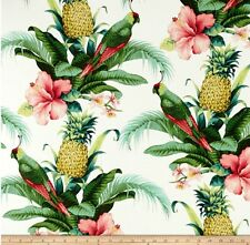 Tommy Bahama outdoor/indoor fabric.  Beach Bounty lush green. 1 Metre