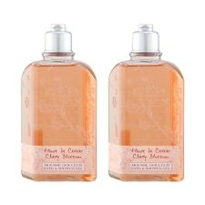 2 PCS L'Occitane Cherry Blossom Bath & Shower Gel 8.4oz,250ml Bath Body#12246_2