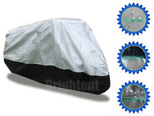 Heavy Duty Waterproof Motorcycle Cover Universal Chopper Cruisers Storage GM3HS