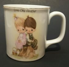 Vintage 1980 Precious Moments Love One Another Coffee/Tea Cup Collectable