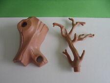 PLAYMOBIL – Tronc d'arbre marron clair / Tree branch / 3039 4232 4155