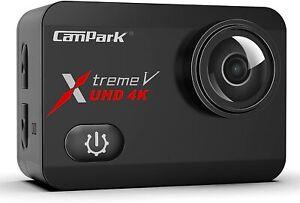Campark x30 4k Action Kamera 20mp Eis Anti-Shake Touchscreen Unterwasser 40m