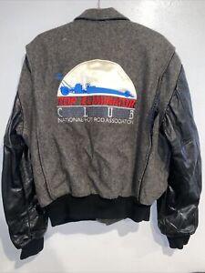 vintage top eliminator racing club National Hot Rod Association jacket XL
