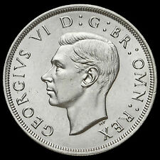 1937 George VI Coronation Silver Crown, EF