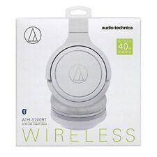audio-technica Bluetooth Wireless Headphone White ATH-S200BT Japan Free Shipping