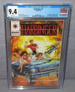 HARBINGER #1 (Sting, Kris, Zephyr, Flamingo, Torque 1st app) 9.4 NM Valiant 1992