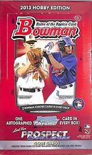 2013 Bowman Baseball Sealed Hobby Box 10 cards/pack 24 packs/box