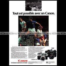 CANON REFLEX EF & CANONET 28 APPAREIL PHOTO 24X36 1977 Pub Publicité / Ad #A1510
