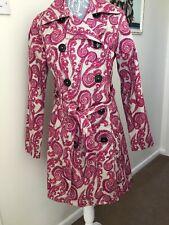 MERONA Paisley Cotton Trench Coat  Small