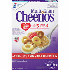 Multi Grain Cheerios Gluten Free, 9 oz